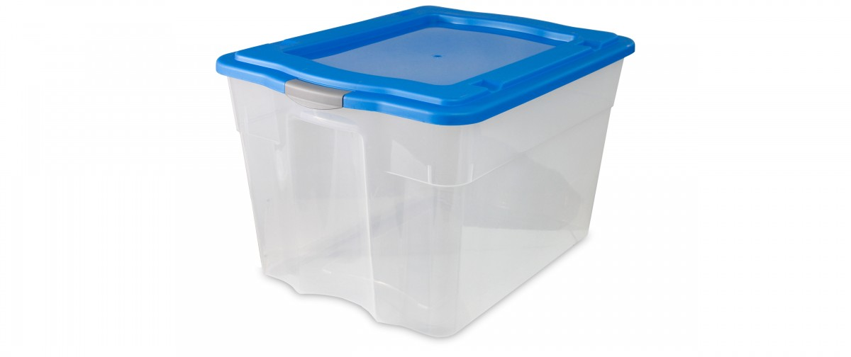 Clear Latch Tote (80L / 84QT)