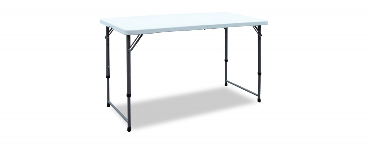 4 ft. Adjustable Height Center Folding Table (#2448F)