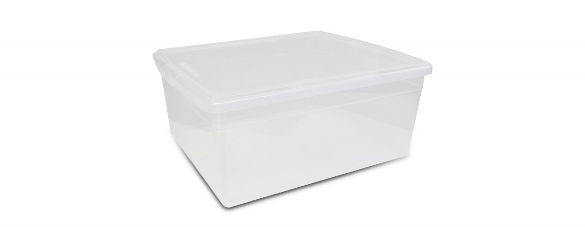 Clear Sweater Box (19L / 20QT)
