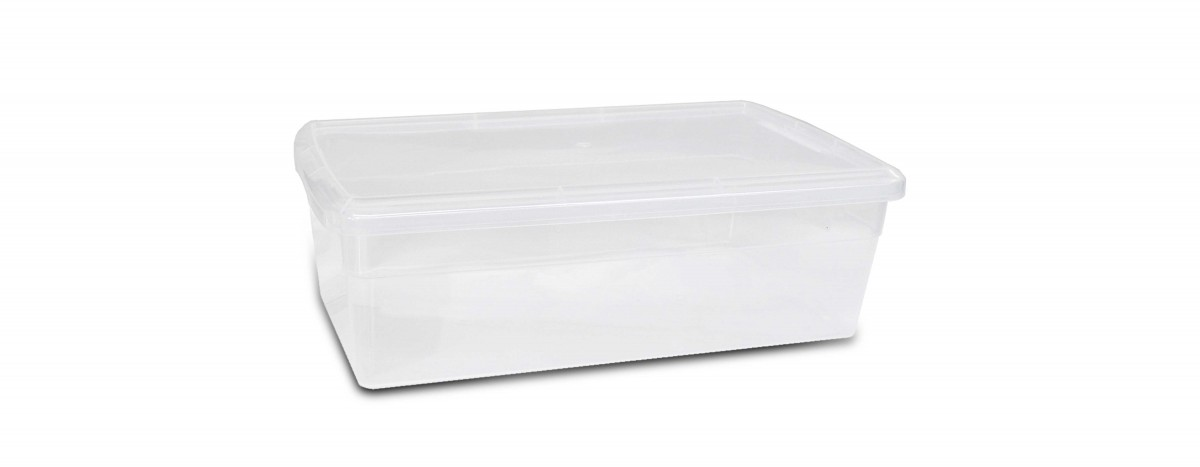 Clear Shoe Box (6QT)