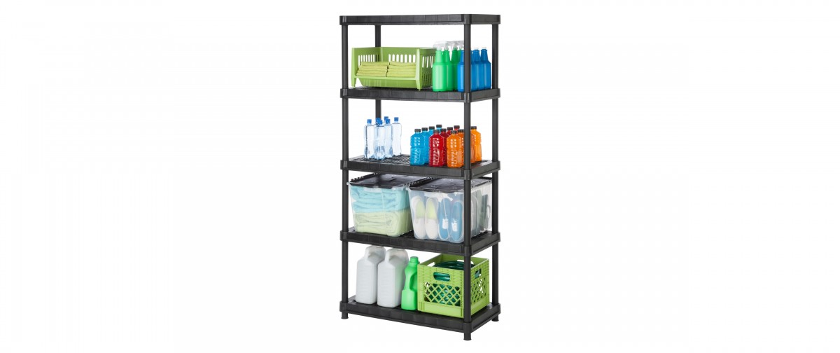 18'' Resin Shelving System - 5 Levels