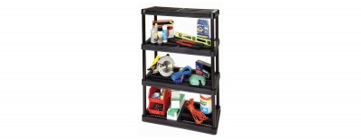 18'' Resin Shelving System - 4 Levels