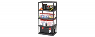 24'' Resin Shelving System - 5 Levels (#3624-R5V)