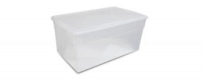 Clear Jumbo Box (76L / 80QT)
