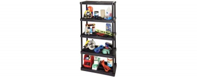 18'' Resin Shelving System - 5 Levels (#3618-R5V)