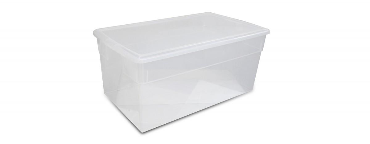 Clear Jumbo Box (76L / 80QT)