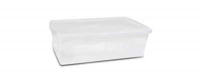 Clear Shoe Box (5.7L / 6QT)
